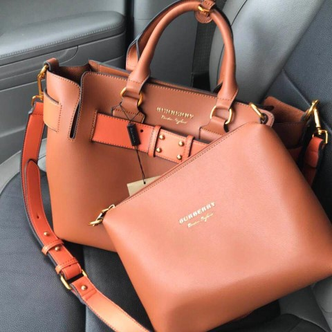 Burberry Bag with Pouch