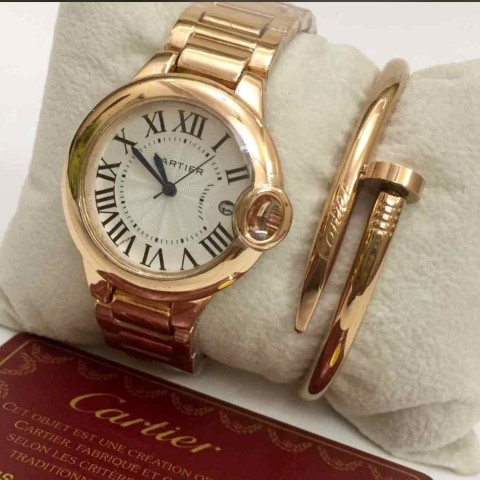 Cartier Combo (Watch + Bracelet)