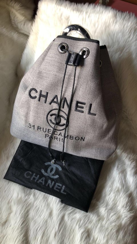 Chanel Backpack Beige