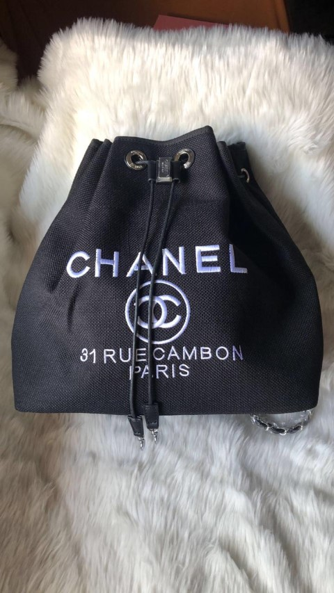 Chanel Backpack Black