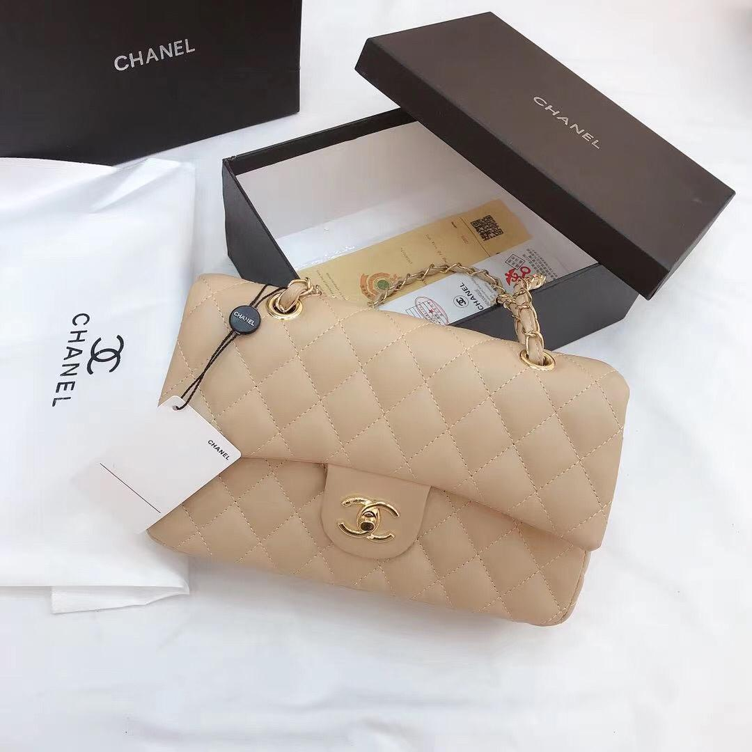 Chanel flap matte with Box documents invoice