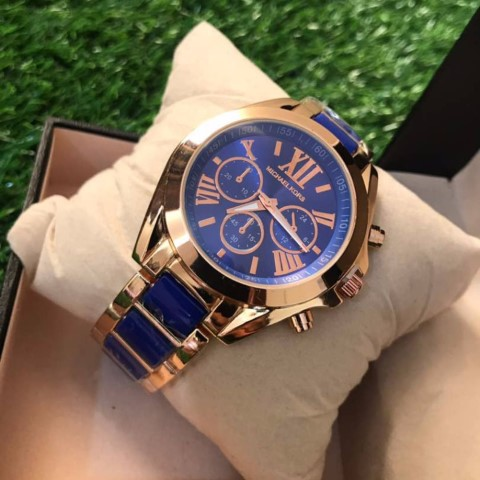 MK Bradshaw Watch Blue RG