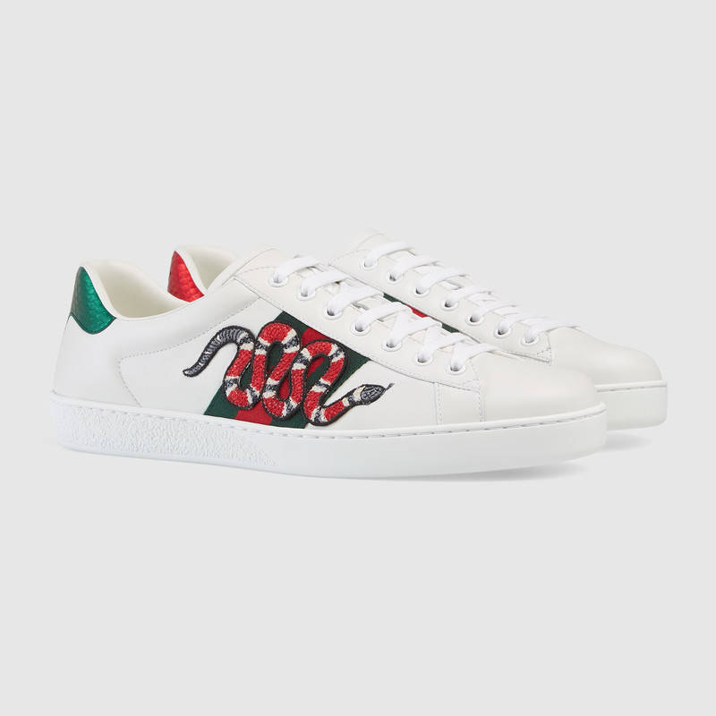 403a1c40442933 Gucci Snake Embroidered Shoes Shoes Buy online in Pakistan Best Collection  of Shoes, Footwear, Sandal, Slipper, Sneaker, Pump, Trainer Available at ...