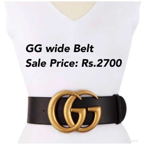 Gucci Wide Belt with Original Packing