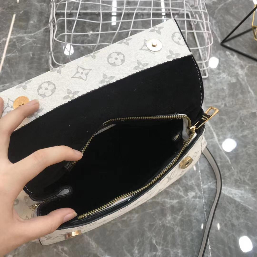 LV Leather bag