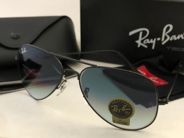 Rayban Aviator with box (Blue)